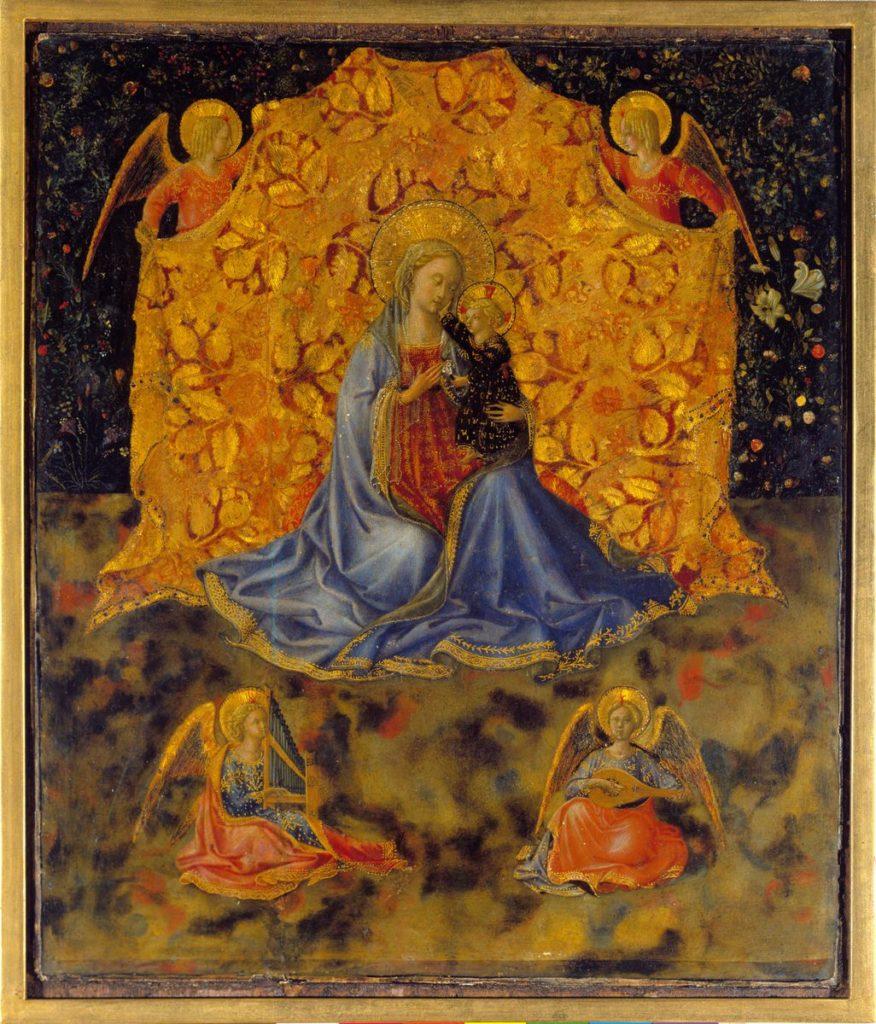 09-Madonna met kind en engelen