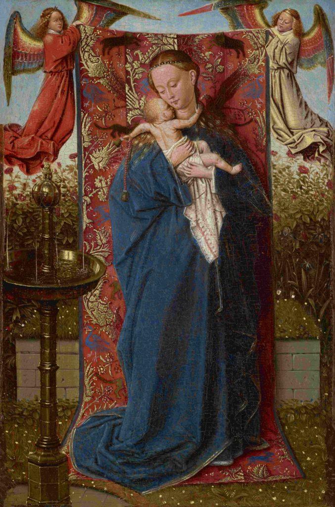 17-Madonna bij de fontein