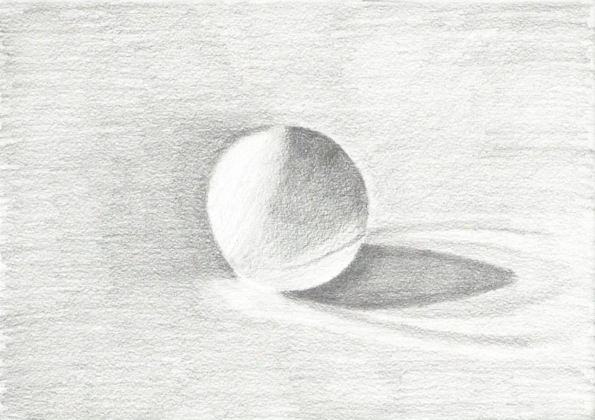Balle ping pong crayon HB