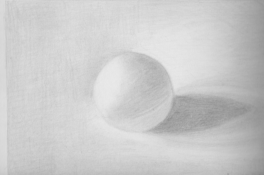 Balle Ping pong scannée plutôt que photographiée - Anne B