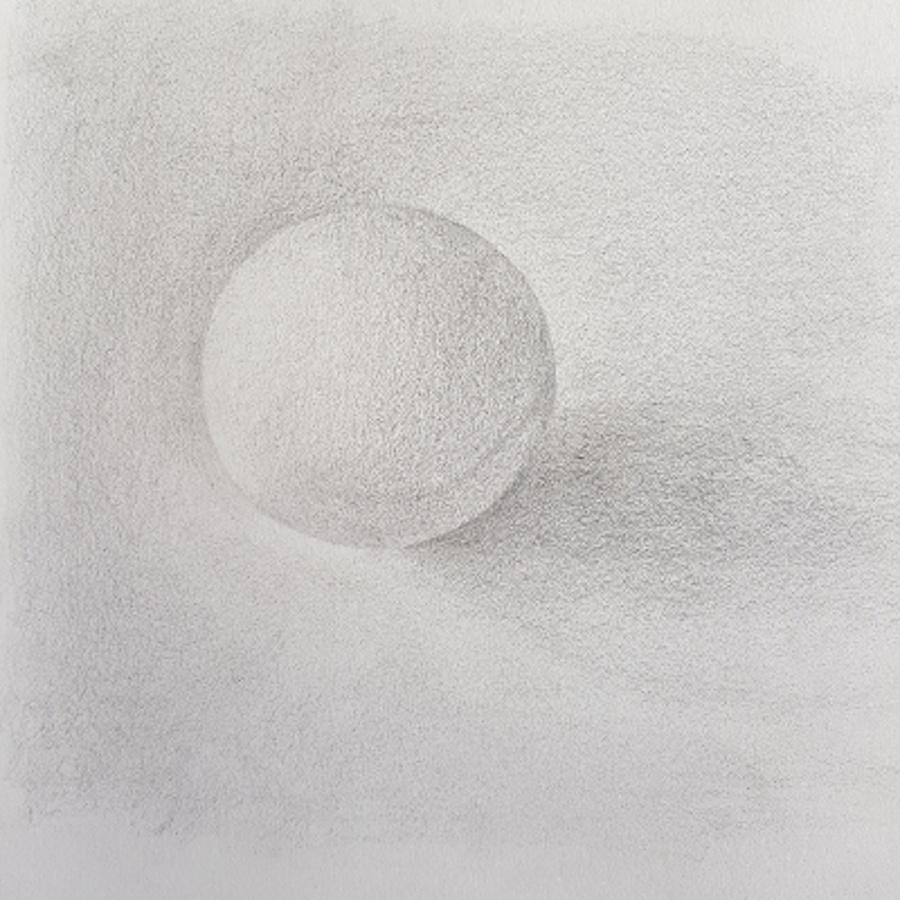 Ping-pong - crayon H