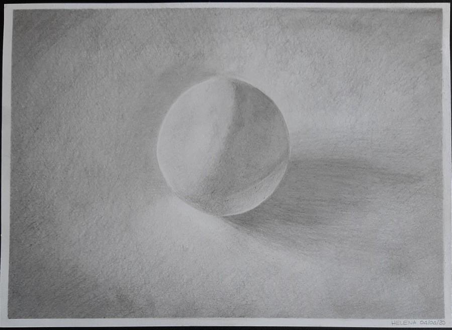 Principalement réalisé au crayon H renforcé par endroits au crayon HB sur papier gris perle.