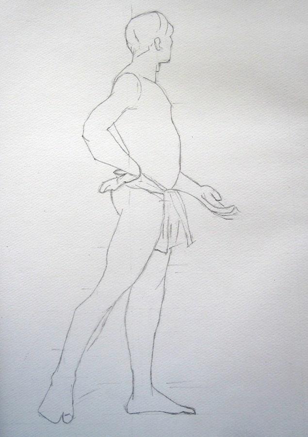 dessin S2- homme debout