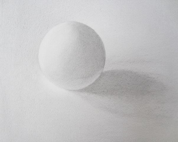 Balle ping pong recardée crayons H et HB